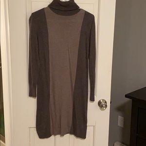 Adrienne vittadini sweater dress turtle neck